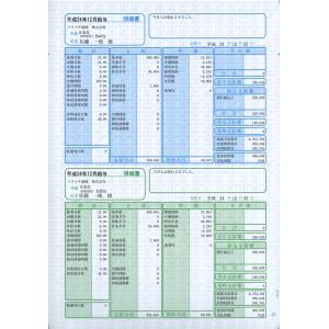 ソリマチ サプライ SR2301 給与・賞与明細書(明細タテ型) 100枚 hbsshop