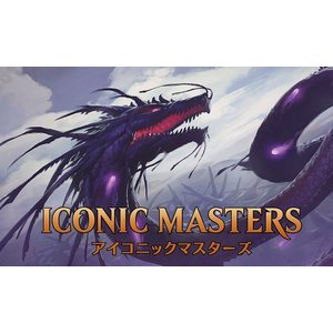 MTG マジック:ザ・ギャザリング アイコニックマスターズ ブースターパック 日本語版 BOX