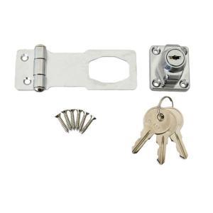 J-456 鍵つき掛金錠 75mm 3本キー 71456 hc7