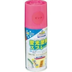 アサヒペン蛍光塗料スプレー ピンク 100ml|hc7