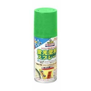 アサヒペン蛍光塗料スプレー グリーン 100ml|hc7