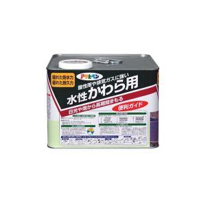 アサヒペン水性かわら用7L アイリッシュグリーン 送料無料|hc7