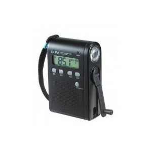 ELPA ダイナモラジオライト DOP-DY269