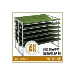 苗箱収納棚 (NC-60KH) 斜め収納専用 昭和ブリッジ 送料無料 hc7