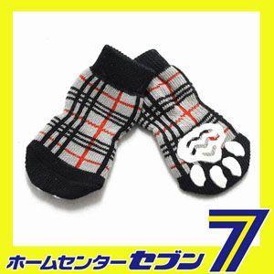 チェックソックス (犬用靴下 1足分4個セット) HUGGY BUDDY'S(ハギーバディーズ)(メール便/代引不可/着日指定不可)|hc7