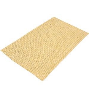 竹ひんやりシーツ セミダブル ナチュラル 約116x180cm  大島屋 敷きパッド 蒸れない 冷涼 竹 竹シーツ hc7