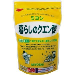 暮らしのクエン酸 330g ミヨシ石鹸 [掃除 洗剤 クリーナー 清掃]|hc7
