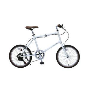 CITROEN MINIVELO206SG/シトロエンミニベロ 折畳自転車 6段ギア ホワイト MG-CTN206G ミムゴ 折り畳み おりたたみ ギア付き じてんしゃ|hc7