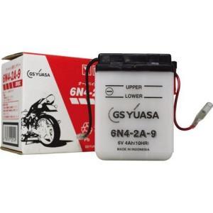 バイク用バッテリー 解放式 6N4-2A-9 ジーエス・ユアサ [6N42A9 バッテリー液別(液同梱) オートバイ gsユアサ]|hc7