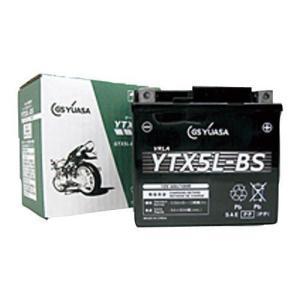 バイク用バッテリー 制御弁式 YTX5L-BS ジーエス・ユアサ [YTX5LBS 即用式(バッテリー液同梱) オートバイ gsユアサ]|hc7