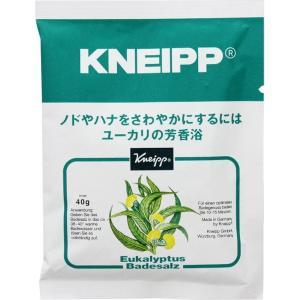 クナイプ バスソルト ユーカリの香り (40g) クナイプ [【医薬部外品】 KNEIPP 入浴剤 癒し スパ用品 アロマバス]|hc7