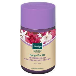 クナイプ バスソルト ハッピーフォーミーロータス&ジャスミンの香り 850g  クナイプジャパン KNEIPP 入浴剤 スパ用品 アロマバス|hc7