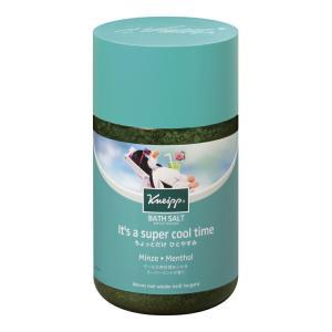 クナイプバスソルト スーパーミントの香り 850g  クナイプジャパン KNEIPP 入浴剤 スパ用品 アロマバス|hc7