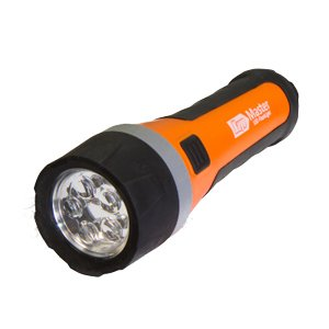 LED 5灯 フラッシュライト LK-L101 広陽家電 [懐中電灯 led 防雨 アウトドア ledライト 防災グッズ]|hc7