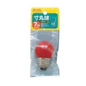 寸丸球 赤 G-13H(R) ELPA [ボール球 G型 電球]|hc7