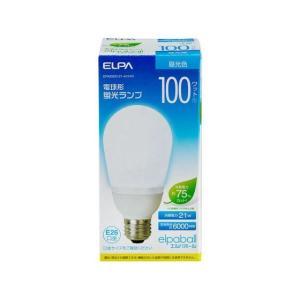 電球型蛍光灯A100W EFA25ED/21-A101H ELPA [電球 電球型蛍光灯]|hc7