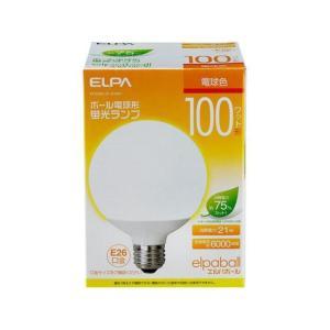 電球型蛍光灯G100W EFG25EL/21-G102H ELPA [電球 電球型蛍光灯]|hc7