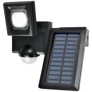 朝日電器 LEDセンサーライト ソーラー発電式 esln111sl 4901087216581