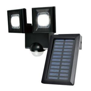 朝日電器 LEDセンサーライト ソーラー発電式 esln112sl 4901087216598