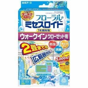 フローラルミセスロイド ウォークインクローゼット用 1年 ホワイトアロマソープの香り 3個入 白元アース earth [衣類 収納空間ケア商品]|hc7