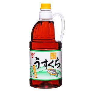 料亭の味 うすくち 1.5LX8本 (1ケース販売) フンドーキン醤油 [しょうゆ 和食 出汁 調味...