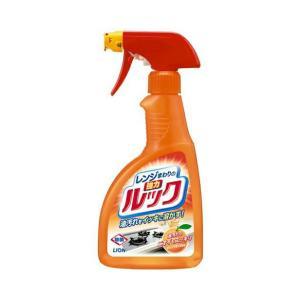 レンジまわりのルック スプレー 400ml  ライオン 洗剤 キッチン用 レンジ台 液体洗剤 掃除|hc7