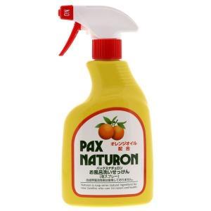 パックスナチュロン お風呂洗いせっけん(泡スプレー) 500ml 太陽油脂 [太陽油脂 パックスナチュロン 洗剤 おふろ用]|hc7