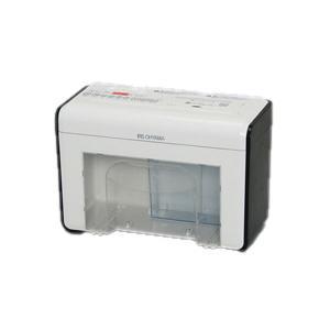 アイリスオーヤマ 卓上ペーパーシュレッダー ホワイト/ブラック P2HT 送料無料|hc7