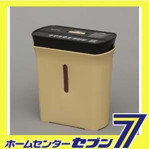アイリスオーヤマ シュレッダー ベージュ/ブラック P5GC|hc7