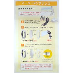 アラミック シャワーヘッド ST-X3B 節水シャワー プレミアム シルバー|hc7|18