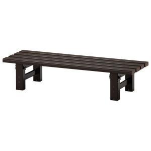 アルミ縁台 TG 2.0-0930 ブロンズカラー ハセガワ [tg0930 ベンチ 花台 テーブル 陳列台]|hc7