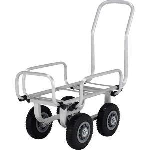 アルミ製伸縮ハスカー(ノーパンクタイヤ) SKK-058PS アルインコ 台車 運搬 運搬台車 作業台車|hc7
