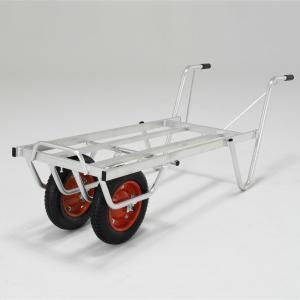 アルミ製コンテナカー 3コン用 2輪 SKX03W アルインコ [台車 運搬 運搬台車 作業台車] DIY.com