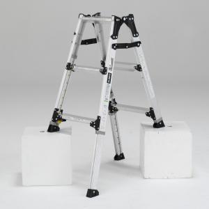 PRW-90FX 幅広伸縮脚立 約90cm アルインコ ALINCO はしご ハシゴ 梯子 園芸用品|hc7