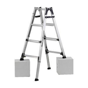PRW-120FX 幅広伸縮脚立 約120cm アルインコ ALINCO はしご ハシゴ 梯子 園芸用品|hc7