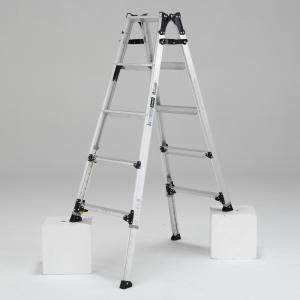 PRW-150FX 幅広伸縮脚立 約150cm アルインコ ALINCO はしご ハシゴ 梯子 園芸用品|hc7
