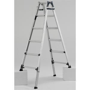 PRW-180FX 幅広伸縮脚立 約180cm アルインコ ALINCO はしご ハシゴ 梯子 園芸用品|hc7