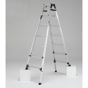 PRW-210FX 幅広伸縮脚立 約210cm アルインコ ALINCO はしご ハシゴ 梯子 園芸用品|hc7