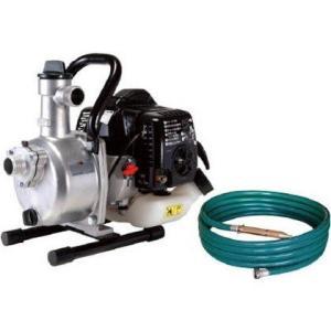 2サイクルエンジンポンプSEV-25L+R型ホースセット(洗浄・散水両用ノズル付き) 工進 [エンジンポンプ ハイデルスポンプ 農機具 洗浄 畑 散水]|hc7