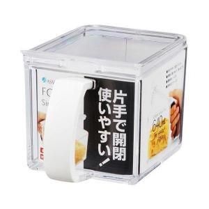 Nフォルマ Cポット ホワイト アスベル ASVEL [調味料入れ 調味料容器 塩入れ 砂糖入れ テーブルウェア キッチン用品]|hc7