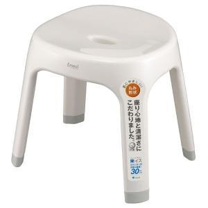 Emeal エミール 風呂イス S30 ホワイト アスベル ASVEL [風呂椅子 バスチェア お風呂用品 バス用品 日用品]|hc7