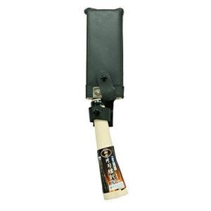 全鋼片刃腰鉈165mm 木鞘付 樹氷作  トップマン [なた ナタ 鉈]|hc7