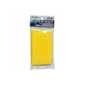 プラスチックパテベラ 3枚組  トップマイティ [ヘラ 塗り付け パテ 補修 塗装]|hc7