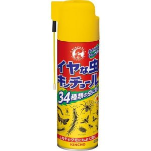 イヤな虫キンチョールN 450ML 大日本除虫菊 [殺虫剤 フマキラー 不快害虫 虫対策 動物忌避 虫対策用品]|hc7