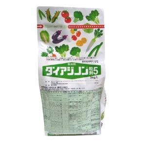 ダイアジノン 粒剤 5% (ケース販売) 3kgx8袋 日本化薬 [殺虫剤 土壌害虫剤 農薬 ] hc7