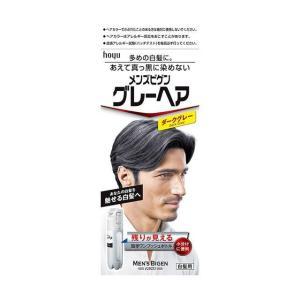 ホーユー メンズビゲン グレーヘア (ダークグレー) 40g+40g ホーユー [ヘアカラー 白髪染め 男性用]|hc7
