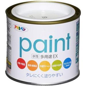 水性多用途EX (1/5L) 200ml アサヒペン [アサヒペン 塗料 水性塗料 水性ペンキ 錆止め 塗料]|hc7