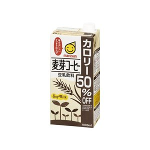 マルサンアイ 豆乳飲料麦芽コーヒー カロリー50%オフ 1000ml×6本(1ケース) 1ケース|hc7