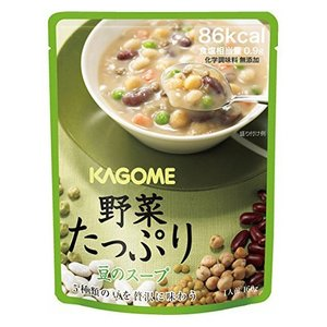 カゴメ 【備蓄用】 野菜たっぷり豆のスープ 160g×30袋 (1ケース) 1ケース 送料無料|hc7