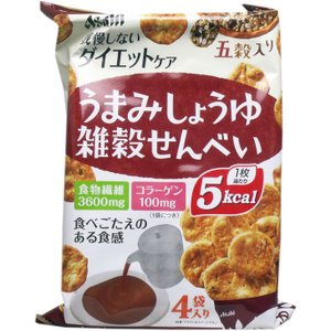 リセットボディ うまみしょうゆ雑穀せんべい 22g×4袋入 単品1個|hc7